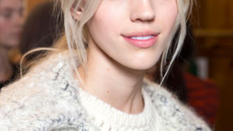 Färben weißblonde haare Kurze Haare