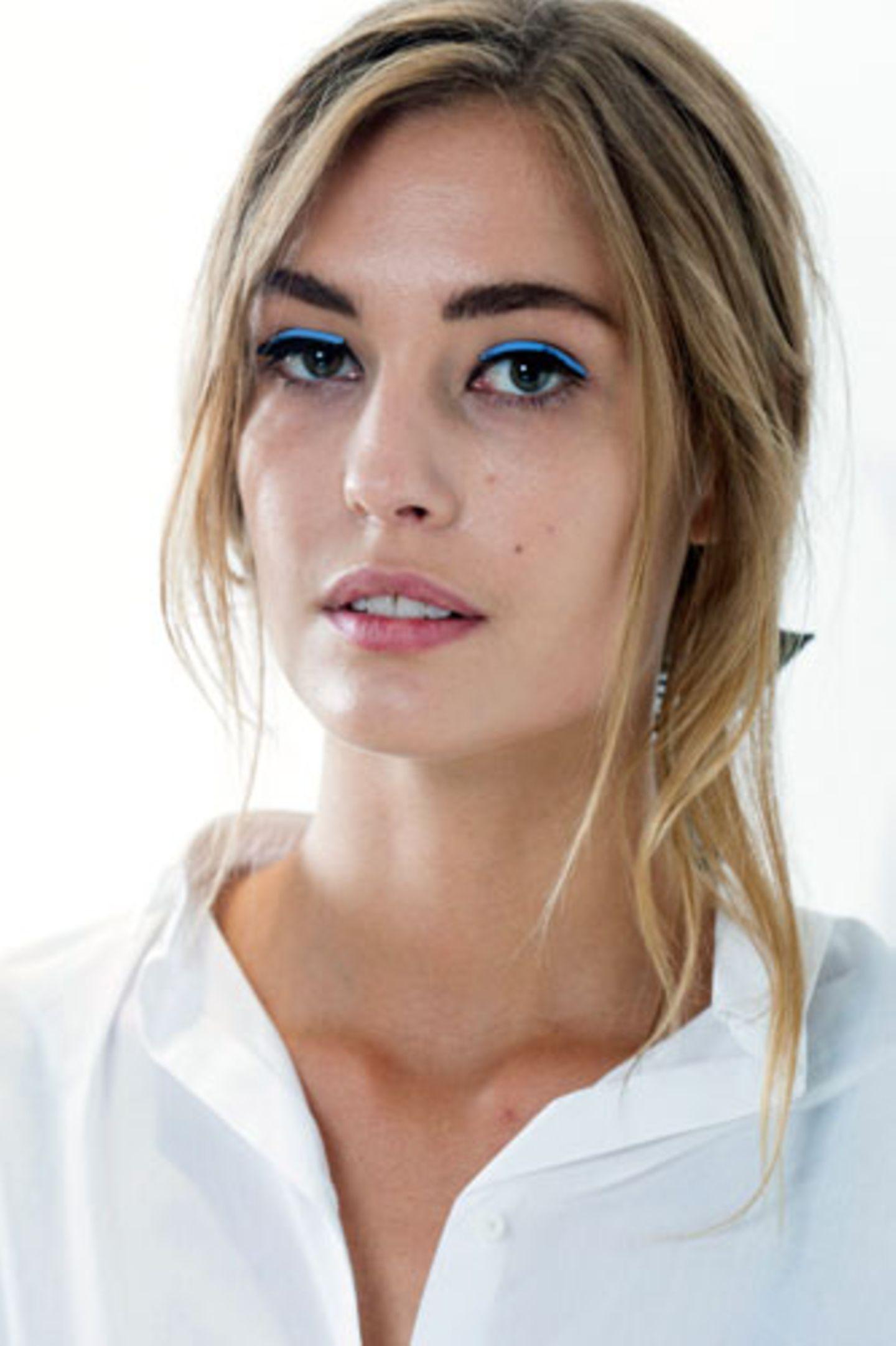Trendfrisuren 2015: Undone-Hair bei Fendi