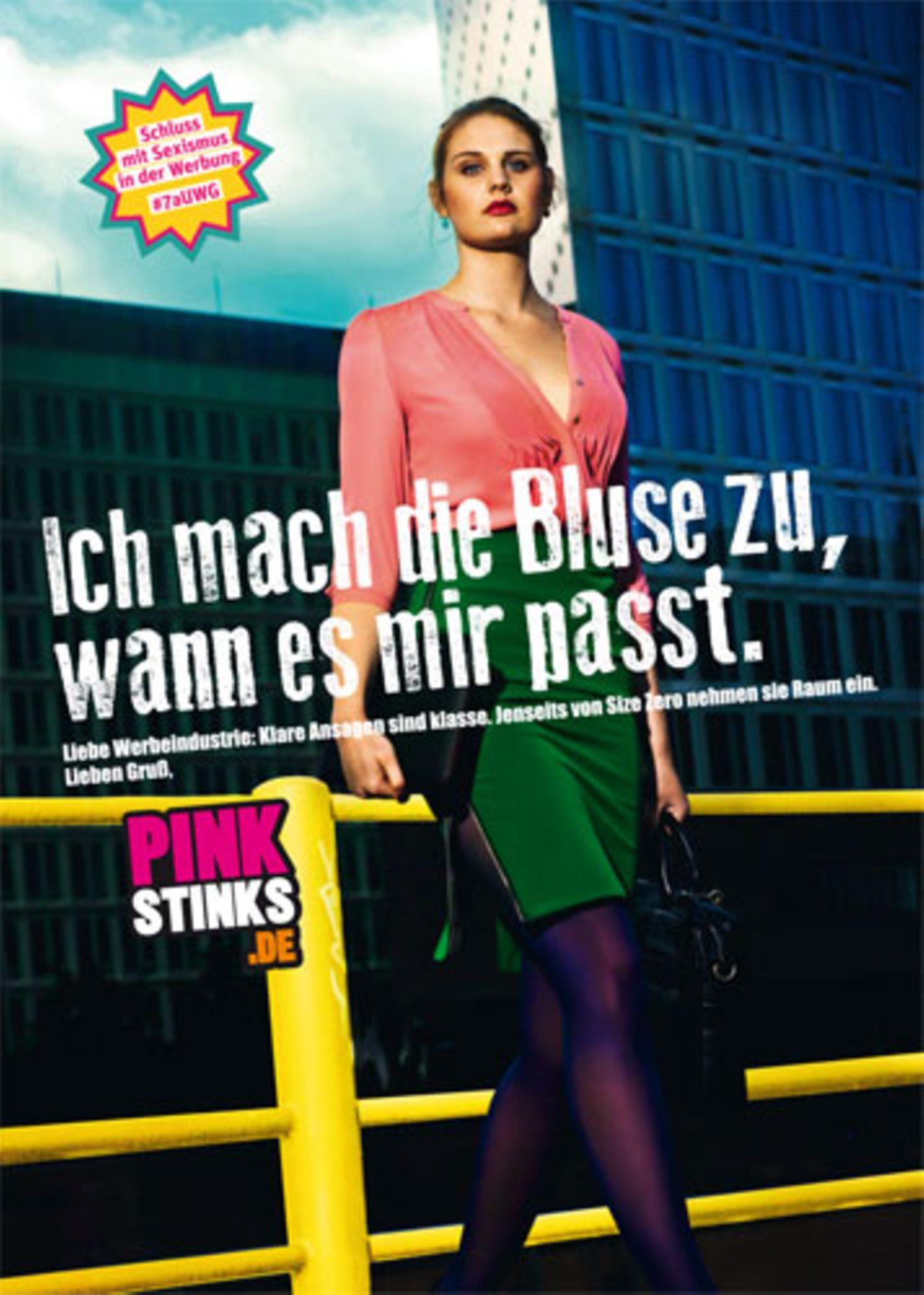 Pinkstinks-Kampagne gegen Sexismus