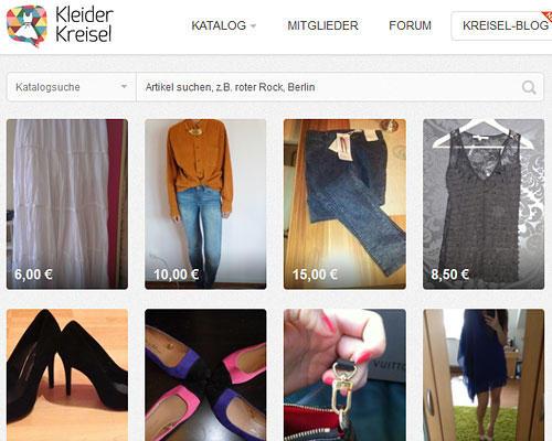 Kleiderkreisel.de - tauschen und verkaufen