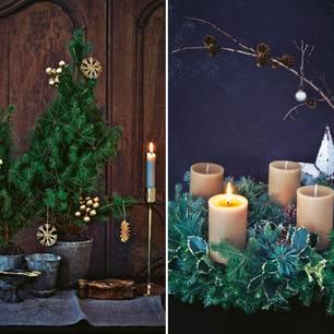 Weihnachtsdeko adventsdeko selber machen 4 ideen - Adventsdeko ideen ...