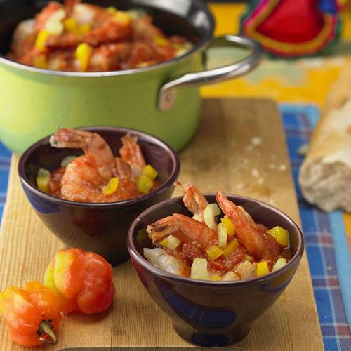 Garnelen in feuriger Tomatensoße (Camarones a la diabla)
