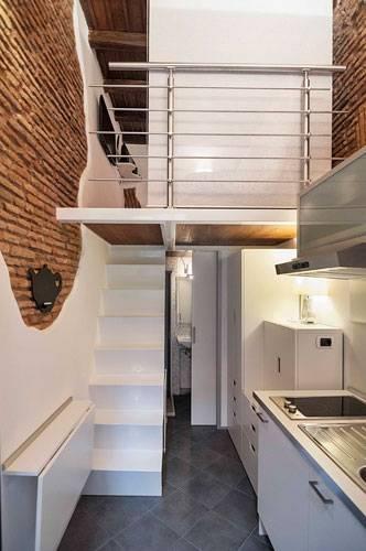 Tiny home diese winzige wohnung hat nur zehn quadratmeter for Winzige wohnung einrichten