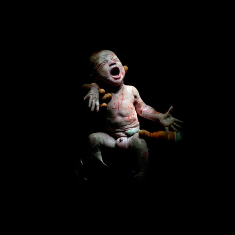 Maël, 18 Sekunden alt - geboren am 13.12.2013 um 16:52 Uhr, 2,8 kg