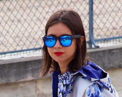 Sonnenbrillen-Trend: Verspiegelt