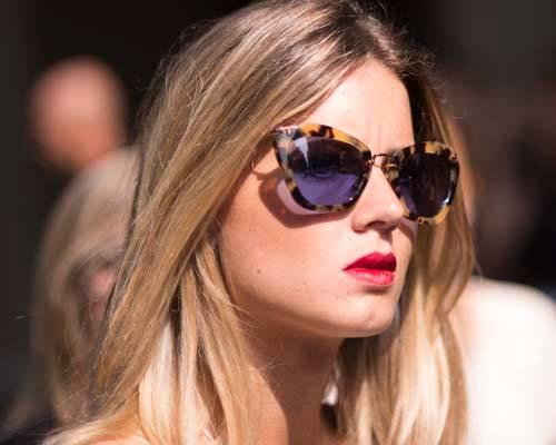 Sonnenbrillen-Trend: Leo-Muster
