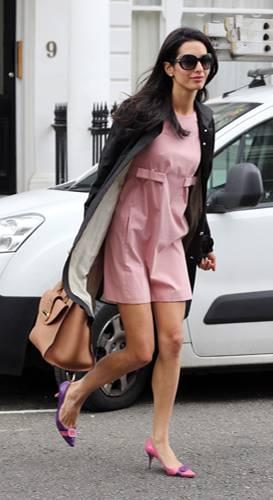 Amal Clooney: Pink Panther
