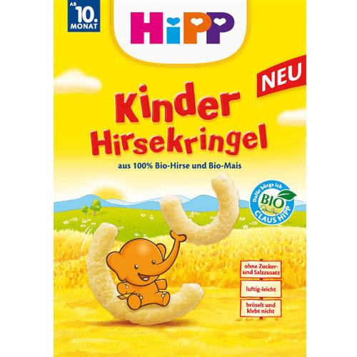 Kinder-Hirsekringel