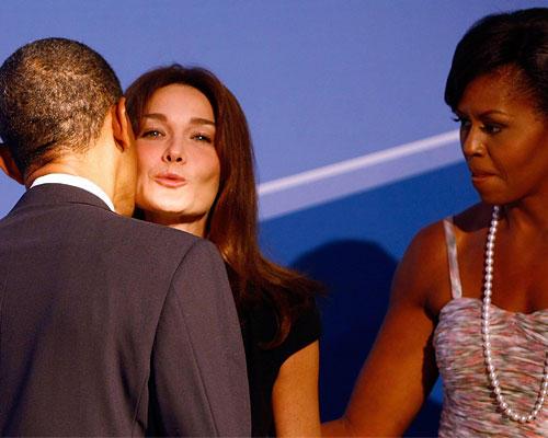 Bruni Obama