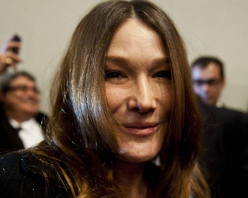 Carla Bruni Botox Gesicht