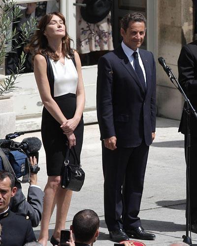 Bruni Sarkozy Sonne