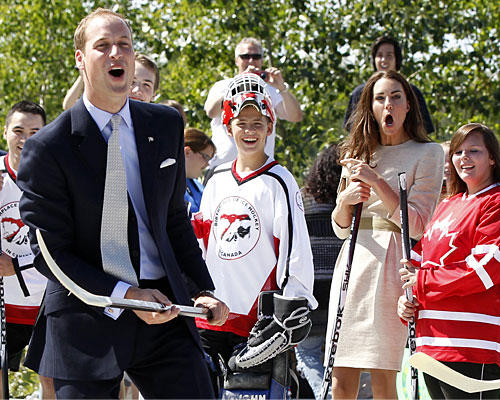 Kate & William Hockey