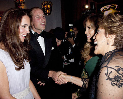 Kate & William Jennifer Lopez