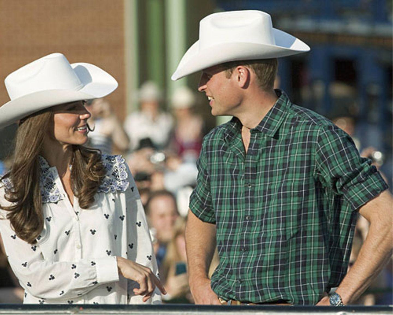 kate & William Cowboy-Hut