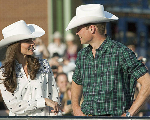 kate & William Cowboy-Hut
