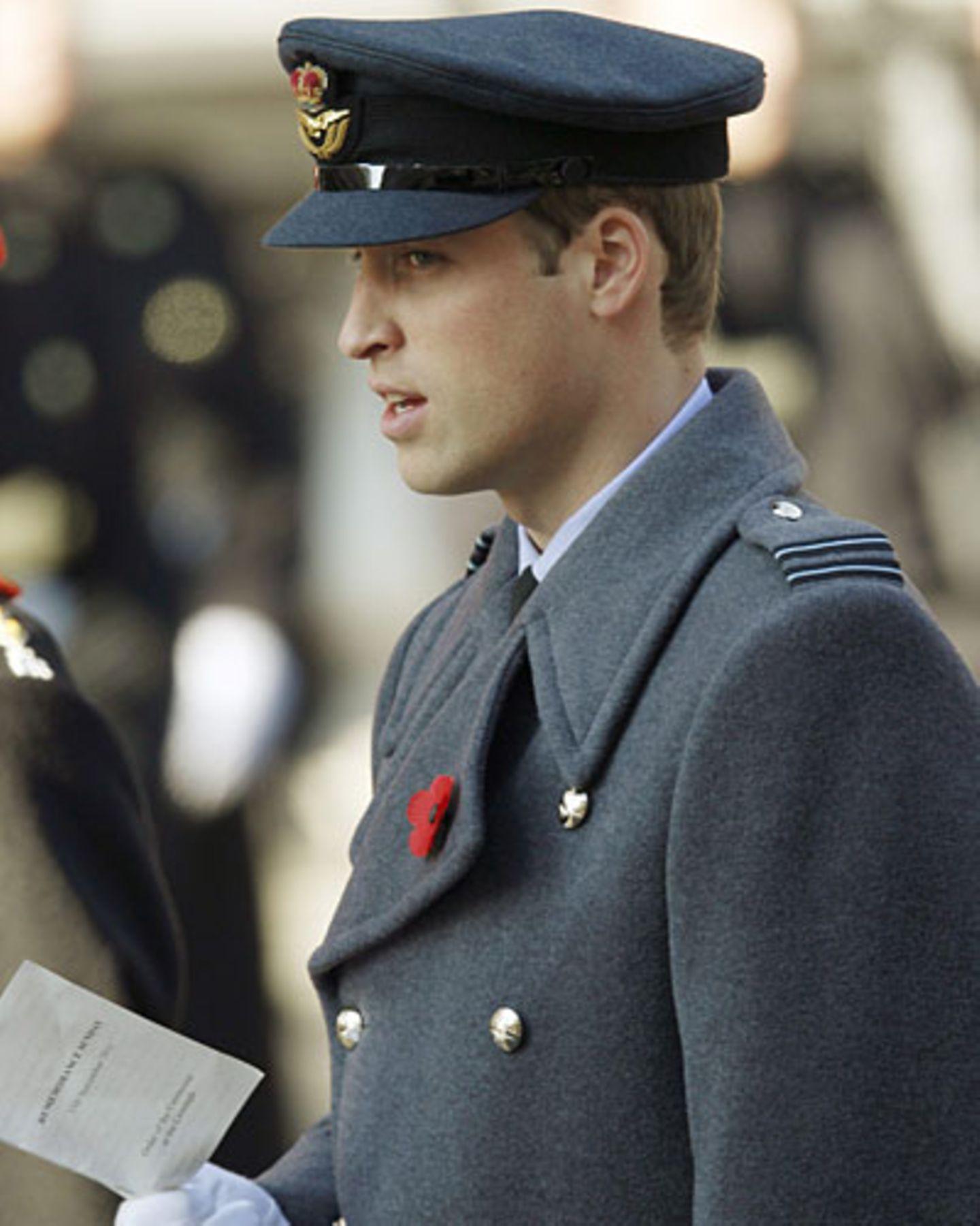 Prinz William Militär