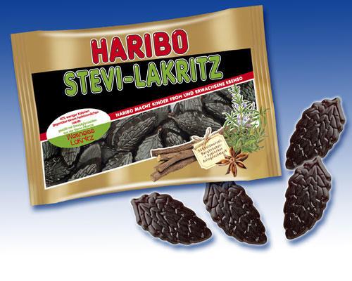 Lakritze - die perfekte Heimat für Stevia