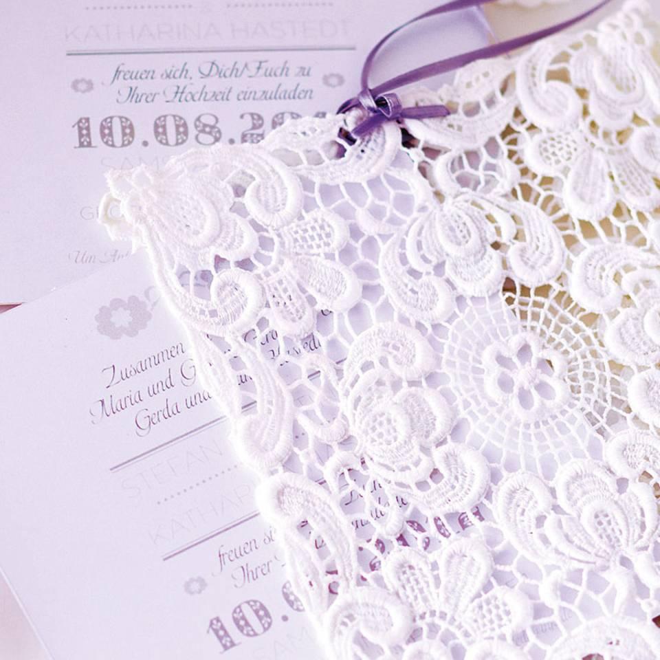 Hochzeitseinladungen zum Selbermachen