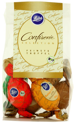 Lubs Confiserie Collection: 75 Gramm für 4,75 Euro
