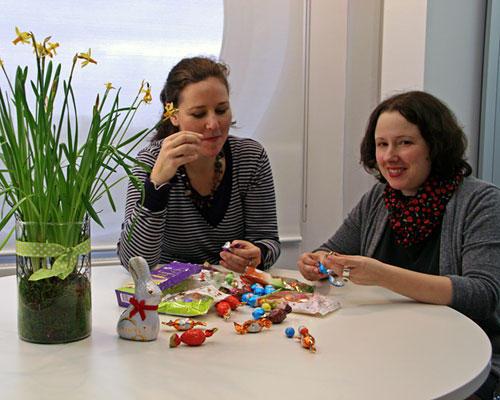 Schokoladeneier im BRIGITTE-Test