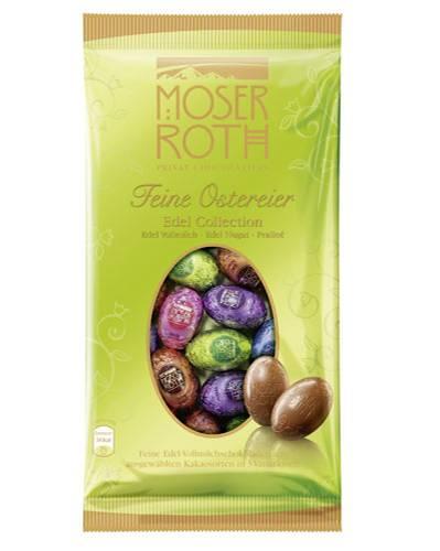 Moser Roth Feine Ostereier (über Aldi): 150 Gramm für 1,49 Euro