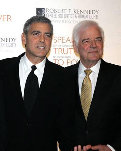 Nick und George Clooney