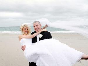 Saras und Pauls romantische Hochzeit