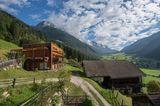 Unterkünfte in Südtirol: Suite mit schönem Garten