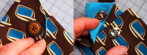 Krawatte Druckknopf