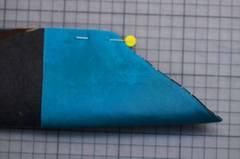 Krawatte Seitenteile Nadeln