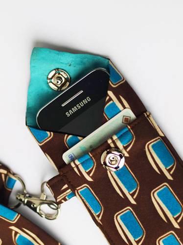 Smartphone Tasche Krawatte