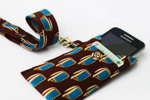 Smartphone-Tasche nähen: So geht's!