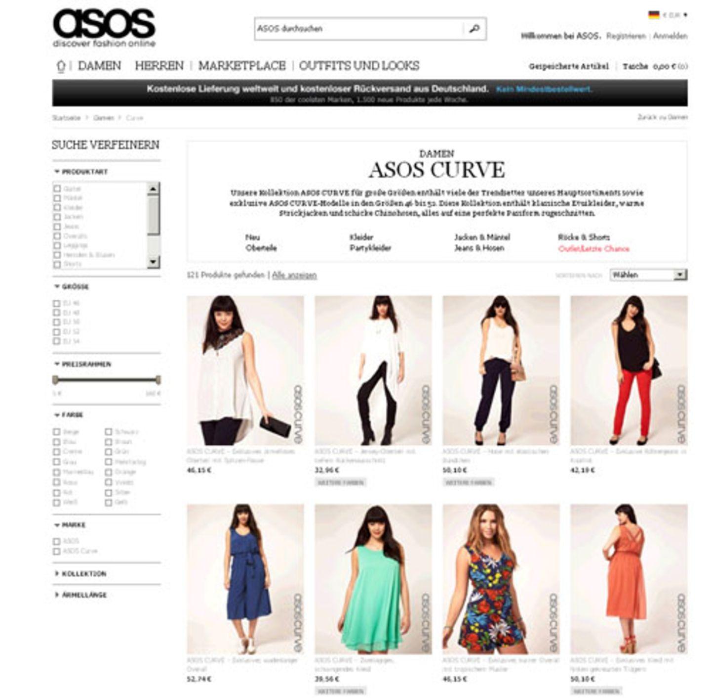 große größen: shoppingadressen: mode für kurvige | brigitte.de