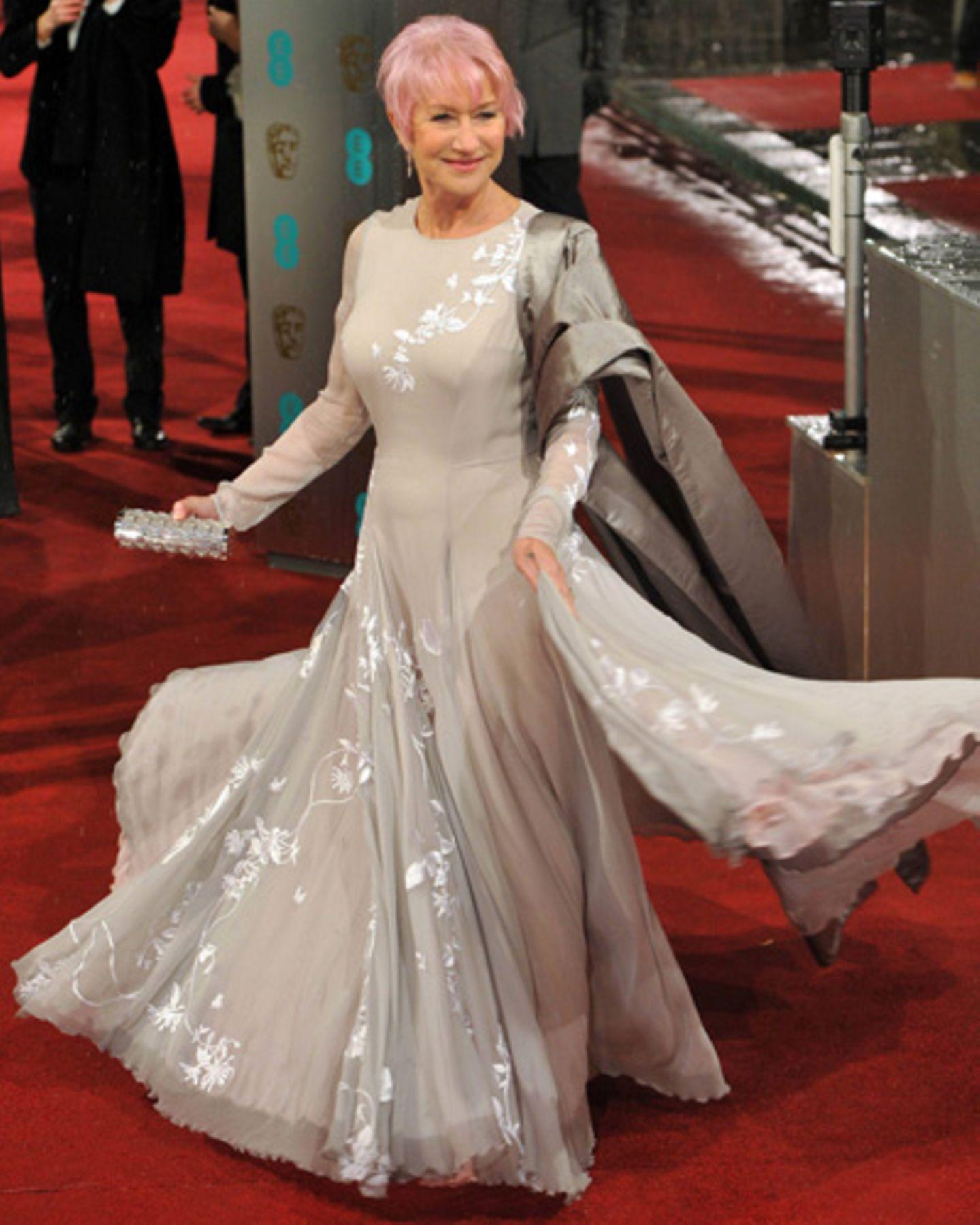 Helen Mirren bei den Baftas 2013