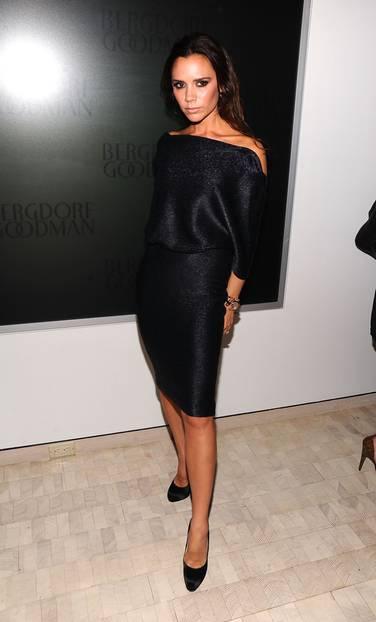 2010: Victoria Beckham im kleinen Schwarzen