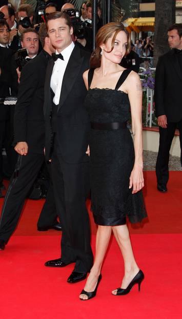 2007: Angelina Jolie im kleinen Schwarzen