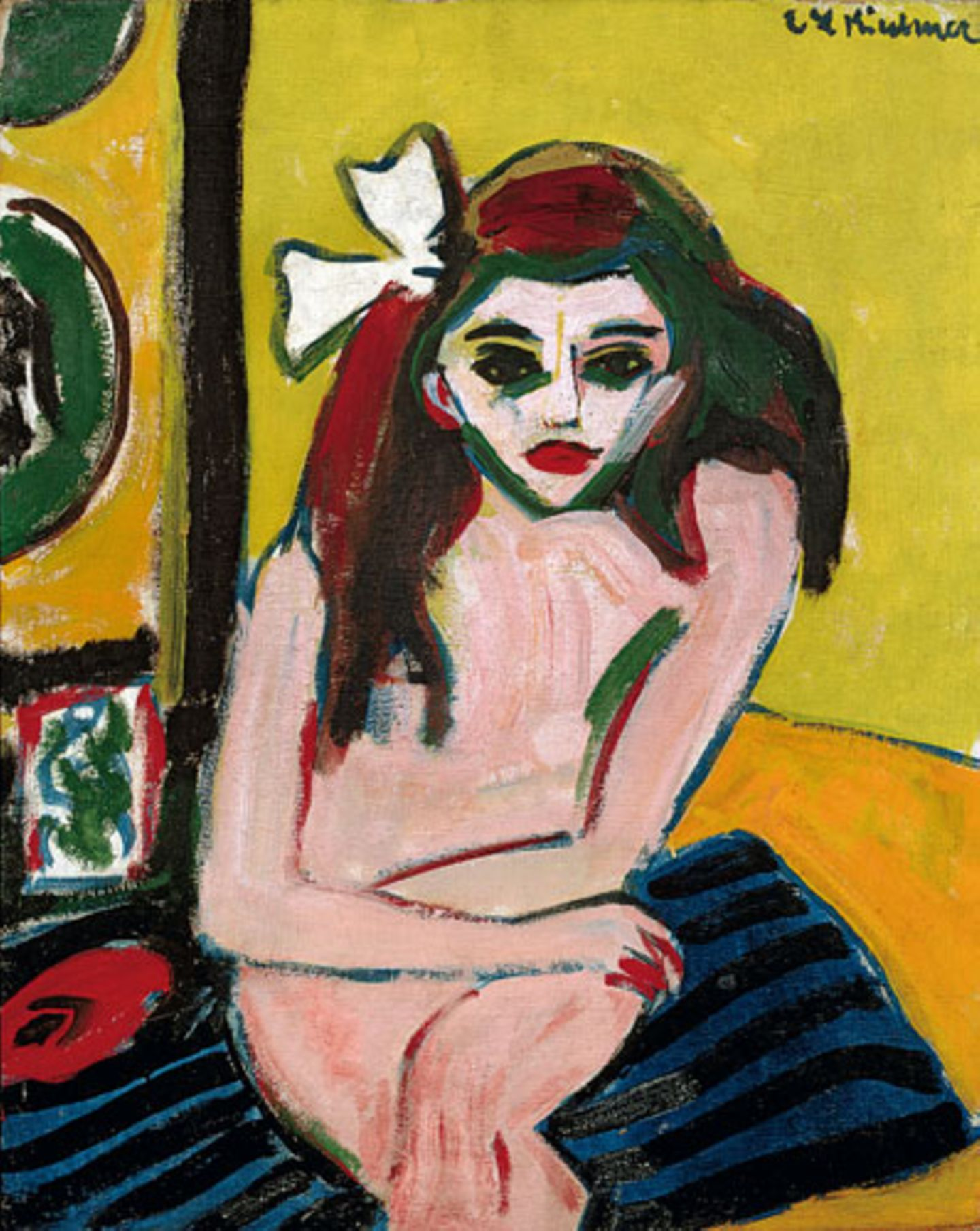 Ernst Ludwig Kirchner: Marcella (1909-10)