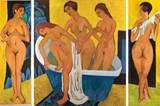 Ernst Ludwig Kirchner: Badende Frauen (1915/25)