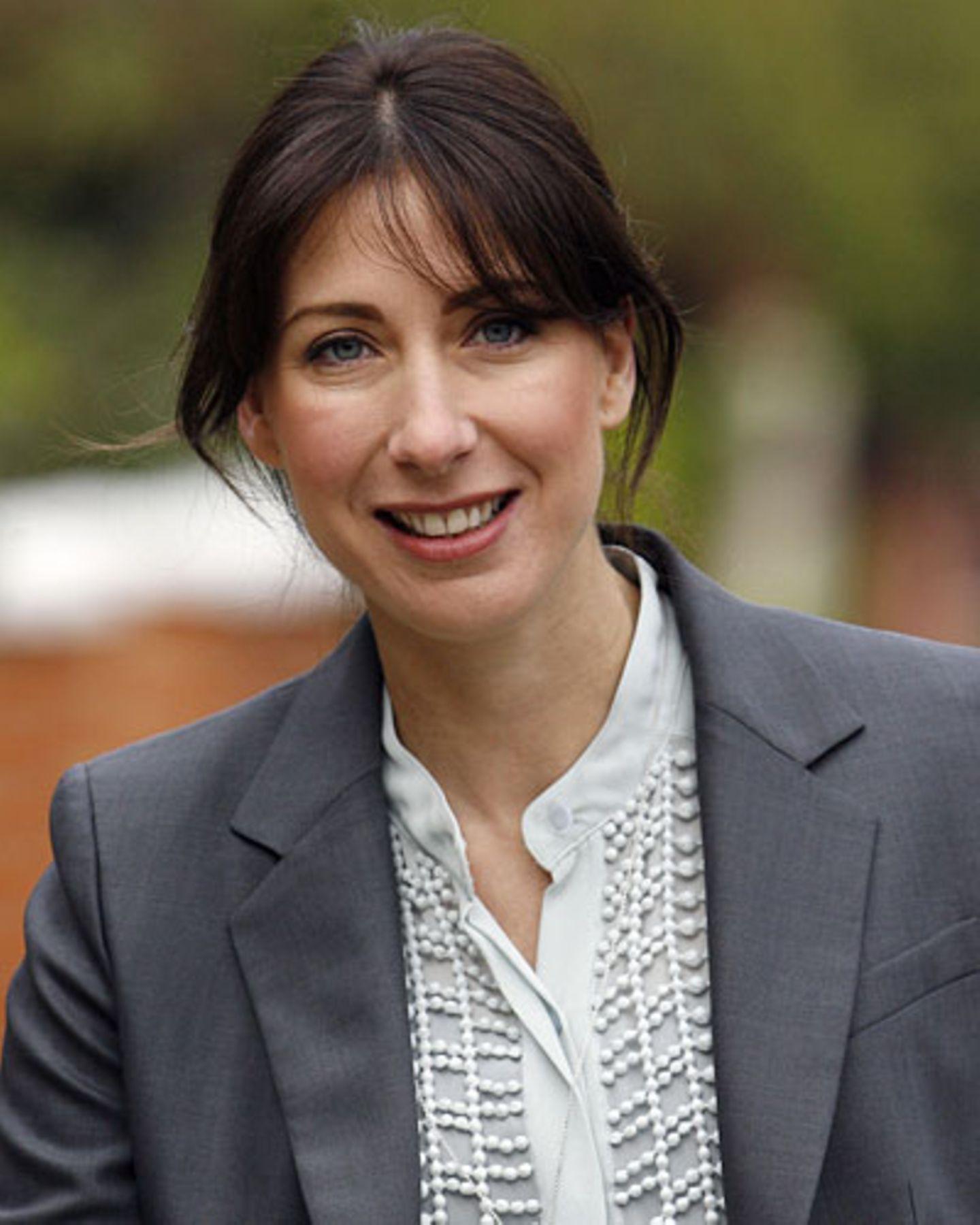 Großbritanniens First Lady: Samantha Cameron