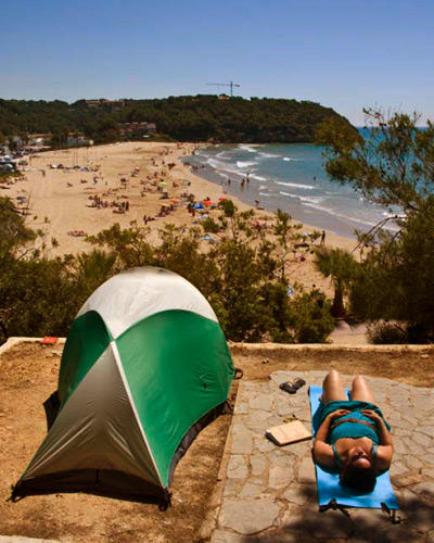 camping 12 hot spots die sch nsten campingpl tze in europa. Black Bedroom Furniture Sets. Home Design Ideas
