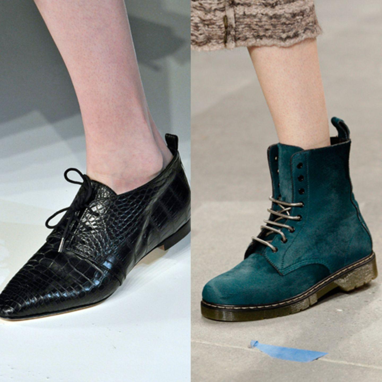 Schicke Schnürer: Diese Schuhe sind Trend