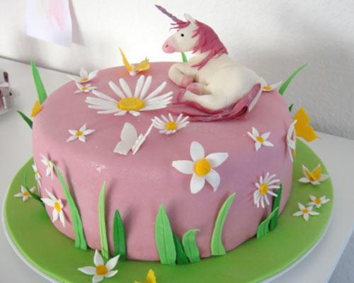 Geburtstagskuchen Mädchen 6 Jahre Kuchen Bild Idee