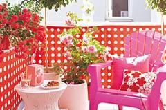 Romantik Look Balkon