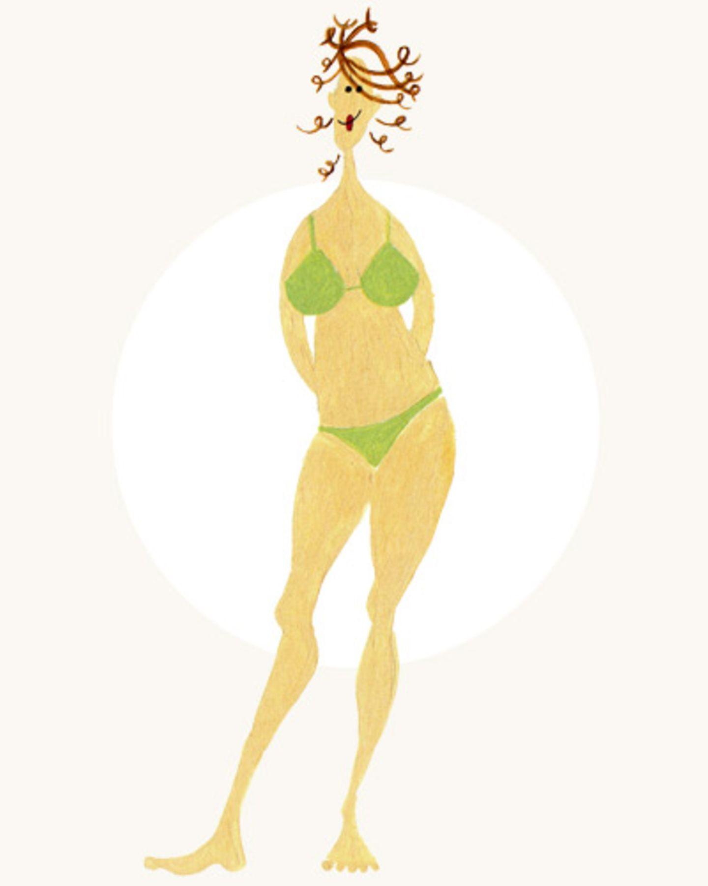 Kleider für jeden Figurtyp: Klein und zierlich
