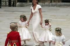 Platz 1: Pippa Middleton auf der Hochzeit von William und Kate