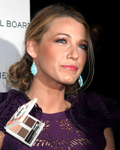 Make-up Orange: Blake Lively