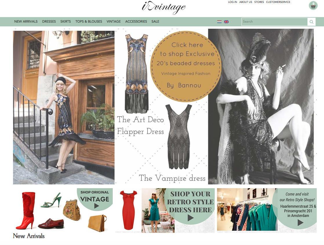 Die besten Vintage-Onlineshops: I Love Vintage
