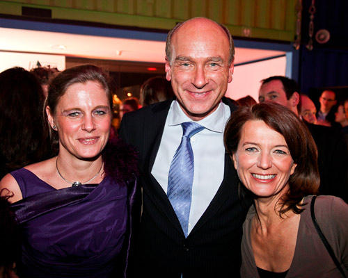 Bianca Dyckhoff (Unilever) und Mann, Iris Müller