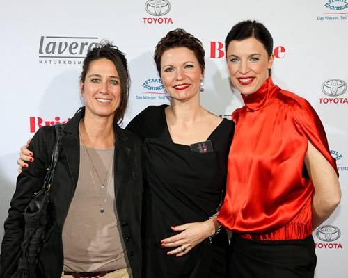 Andrea Lang (EF Sportswear), Claudia Albers, Anja Dressler