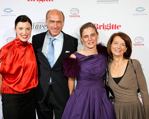 Anja Dressler, Carlo Dyckhoff, Bianca Dyckhoff (Unilever), Iris Müller